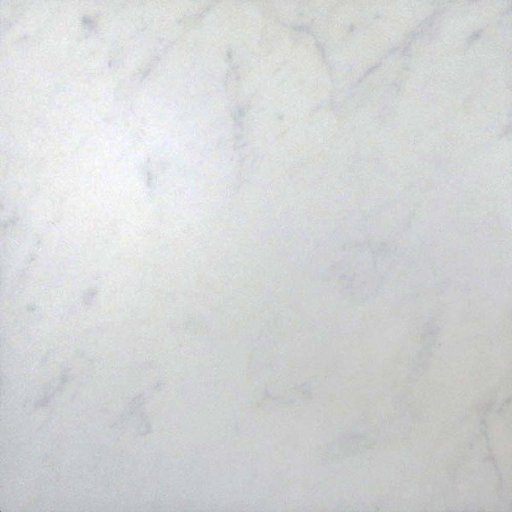 Florence Marbled White Floor Tile (Matt - 450 x 450mm)  Feature Large Image