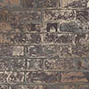 Fine Decor Loft Brick Brown Metallic Wallpaper profile small image view 1