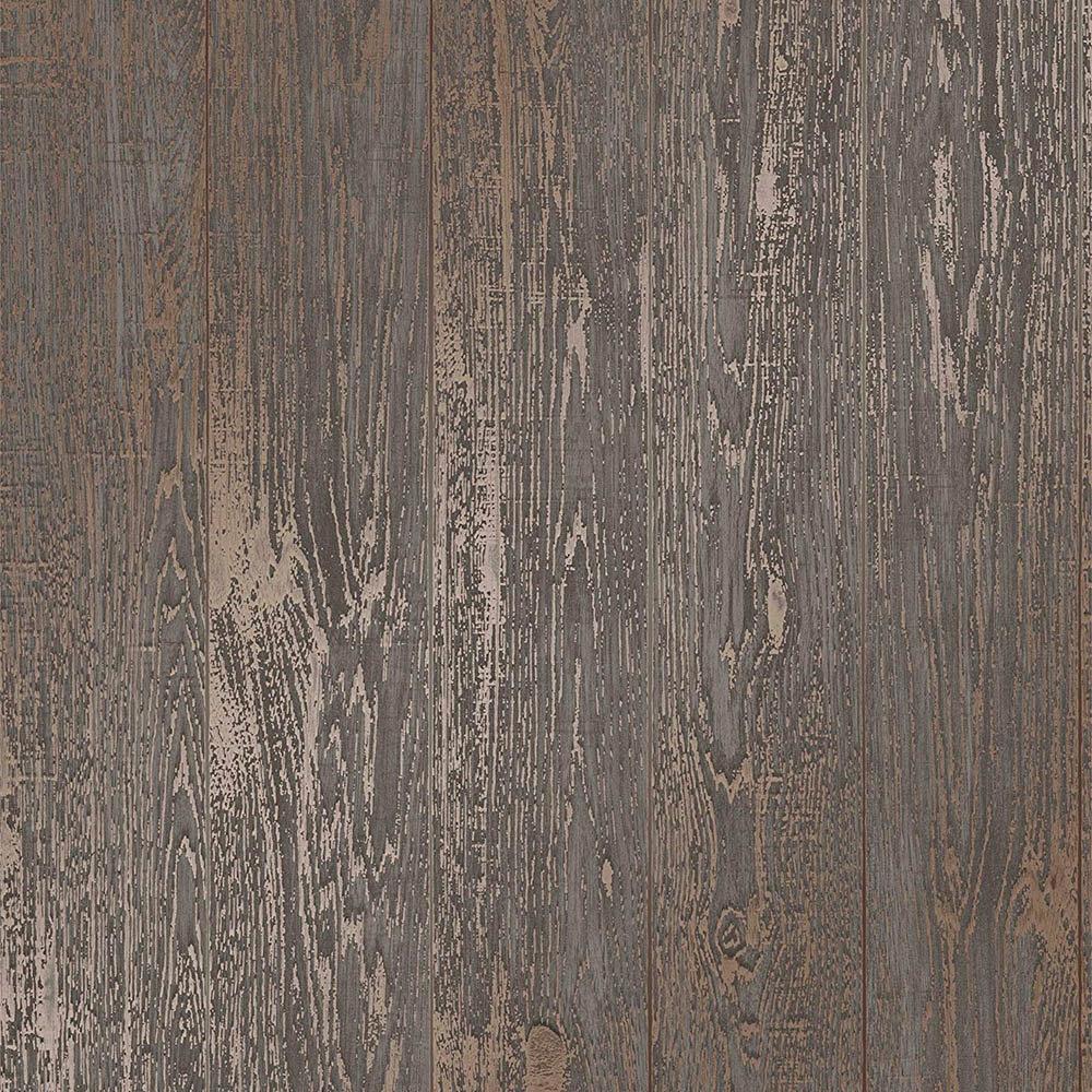 Fine Decor Loft Wood Brown Metallic Wallpaper