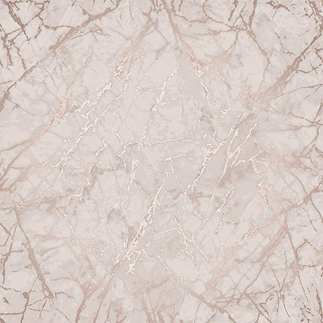Fine Decor Marblesque Marble Rose Gold Metallic Wallpaper