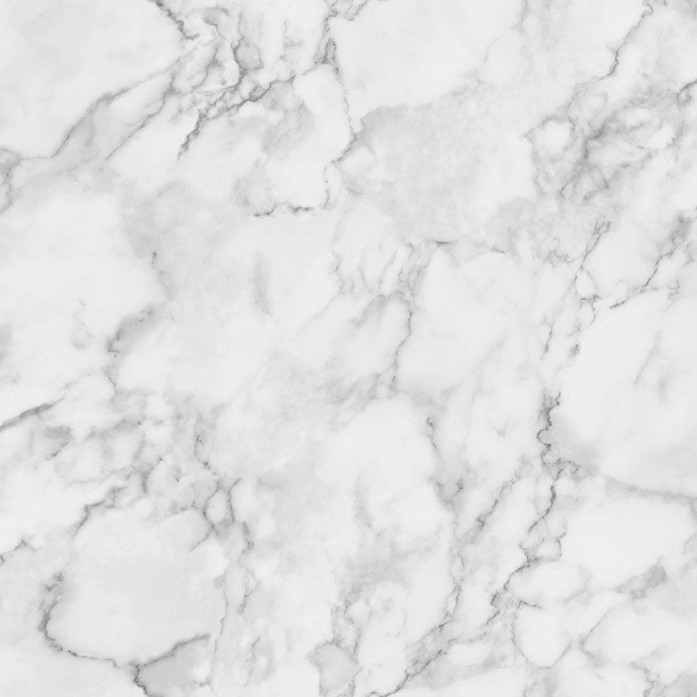 Fine Decor Marblesque Plain Marble White Wallpaper