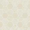Fine Decor Ceramica Hex Cream & Gold Wallpaper profile small image view 1