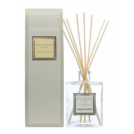 Wax Lyrical Fired Earth Chai & Lime Blossom 200ml Reed Diffuser