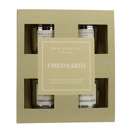 Wax Lyrical Fired Earth Votive Scented Candle Gift Set