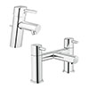 Grohe Concetto Tap Package (Bath + Basin Tap) profile small image view 1