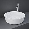 RAK Feeling 420mm 0TH Round Counter Top Basin - FEECT4200AWHA profile small image view 1