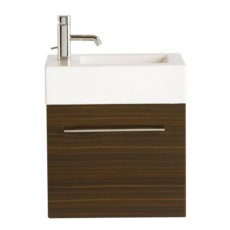 Heritage - Fresso Wall Hung Cloakroom Door Unit - 2 Colour Options Large Image