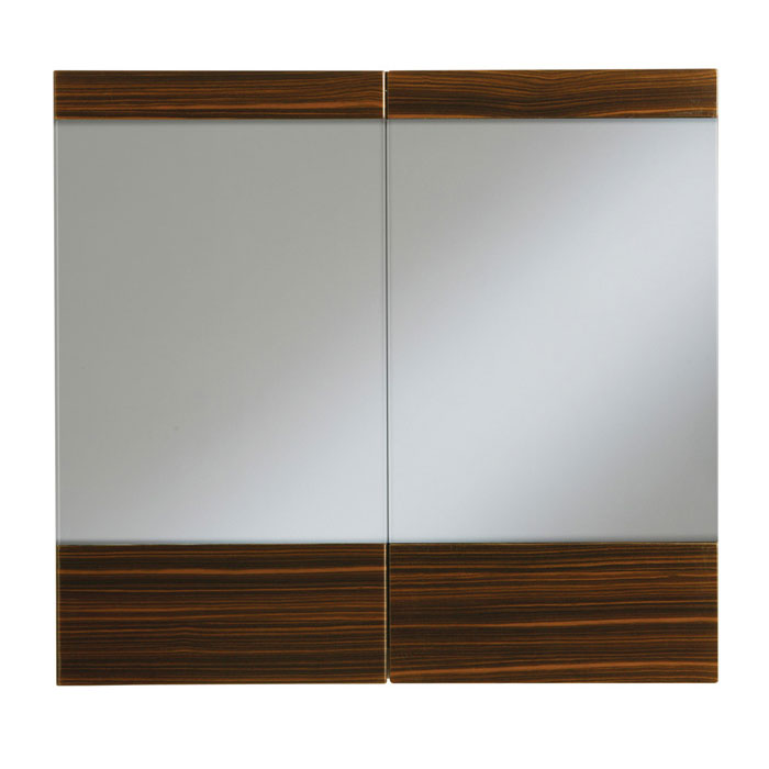 Heritage - Fresso 700mm Mirror Wall Cabinet - 2 Colour Options Large Image
