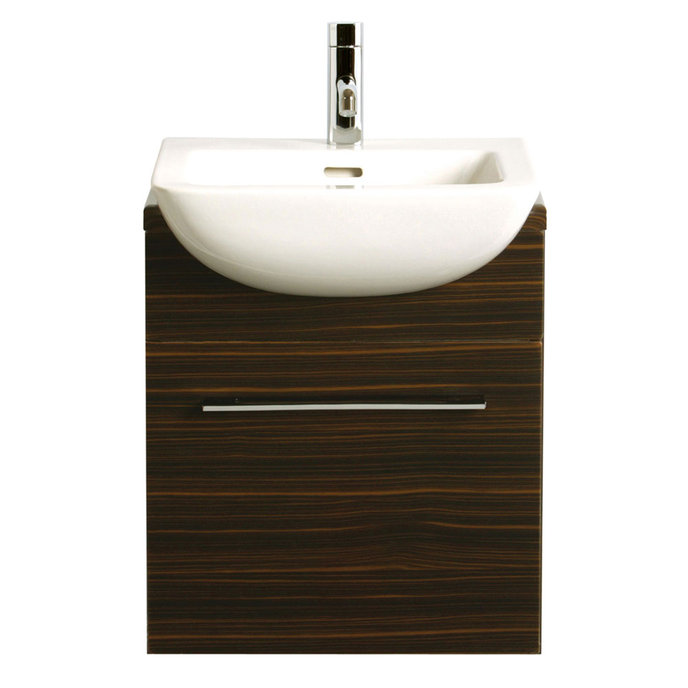 Heritage - Fresso 500mm Wall Hung Vanity Unit - 2 Colour Options Large Image
