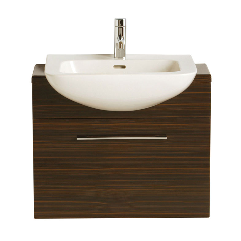 Heritage - Fresso 700mm Wall Hung Vanity Unit - 2 Colour Options Large Image