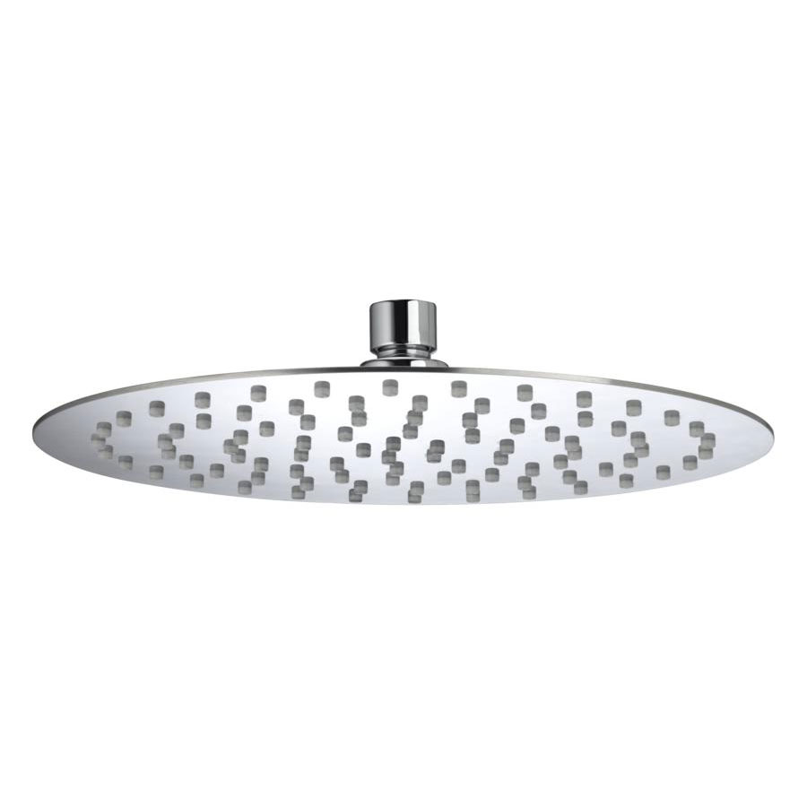 Bristan - 250mm Stainless Steel Slimline Round Fixed Head - FH-SLRD02-C Large Image