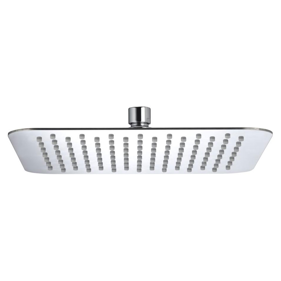 Bristan - 250mm Stainless Steel Slimline Square Fixed Head - FH-SLSQ02-C profile large image view 1
