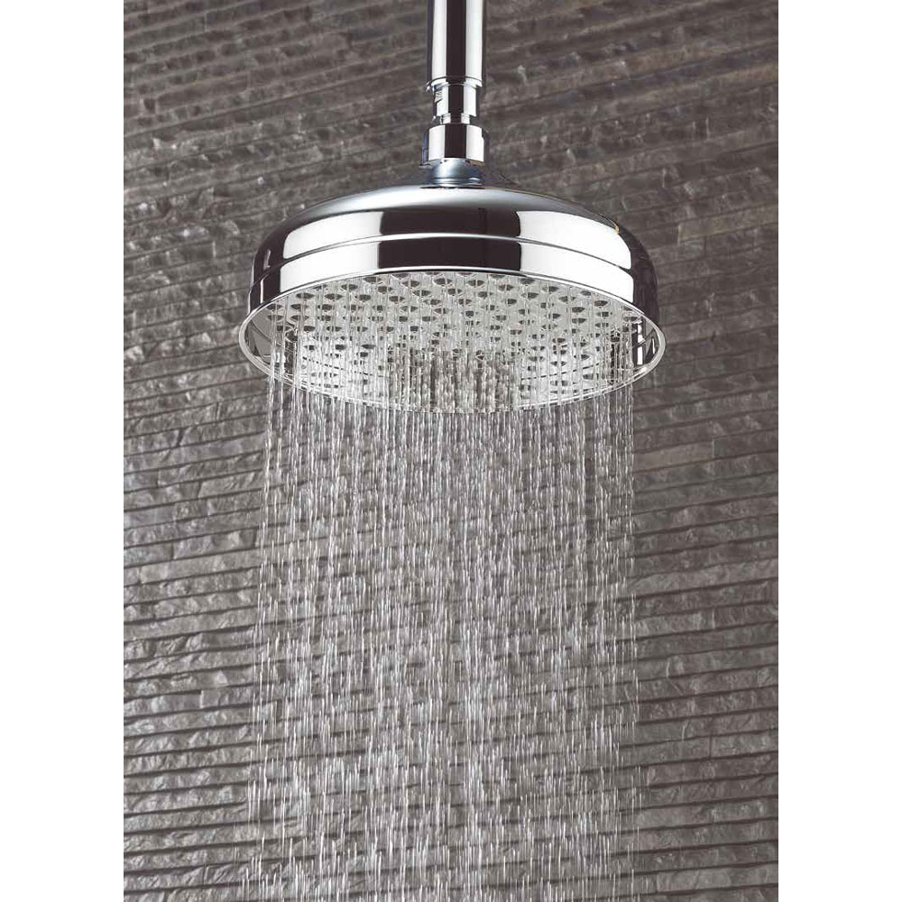 Crosswater - Belgravia 200mm Round Fixed Showerhead - FH08C profile large image view 2