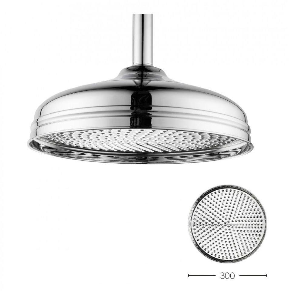 Crosswater - Belgravia 300mm Round Fixed Showerhead - FH12C Large Image