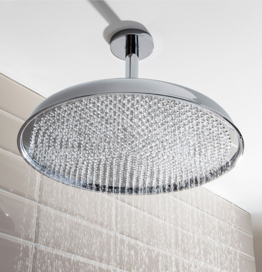 Crosswater - Belgravia 450mm Luxury Round Fixed Showerhead - FH18C Large Image