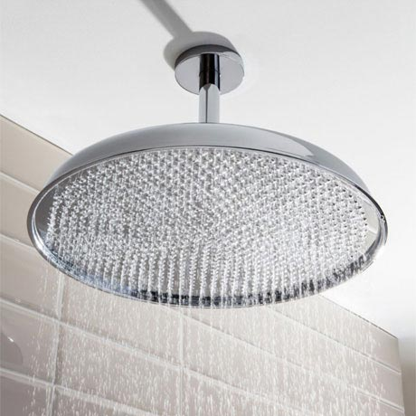 Crosswater - Belgravia 450mm Luxury Round Fixed Showerhead - FH18C