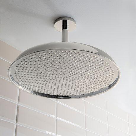 Crosswater - Belgravia 450mm Luxury Round Fixed Showerhead - Nickel - FH18N