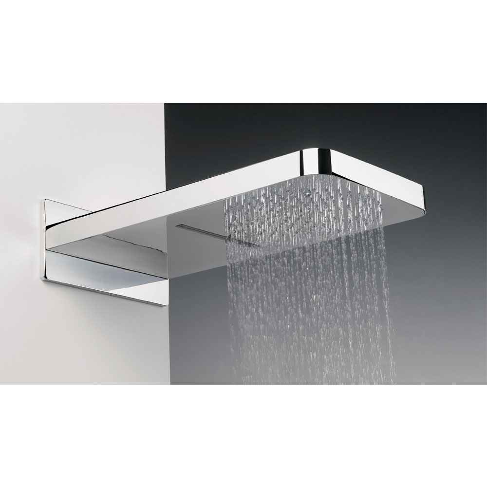 Crosswater - Revive Rectangular Waterfall Fixed Showerhead - FH2000C Feature Large Image