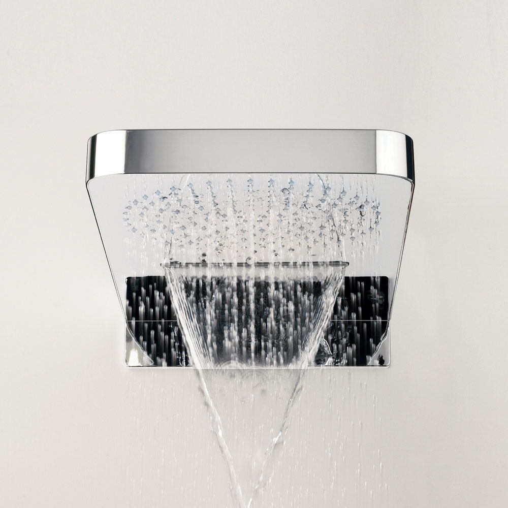 Crosswater - Revive Rectangular Waterfall Fixed Showerhead - FH2000C Standard Large Image