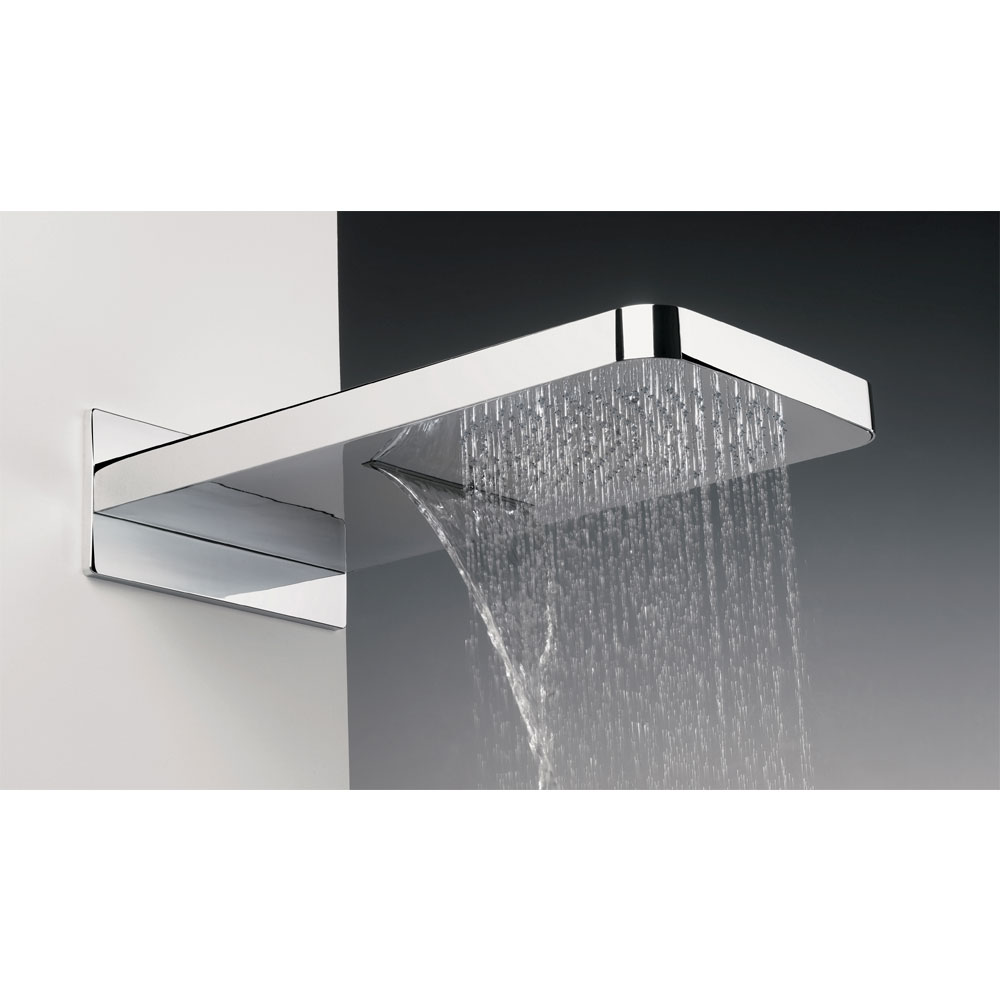 Crosswater - Revive Rectangular Waterfall Fixed Showerhead - FH2000C Large Image