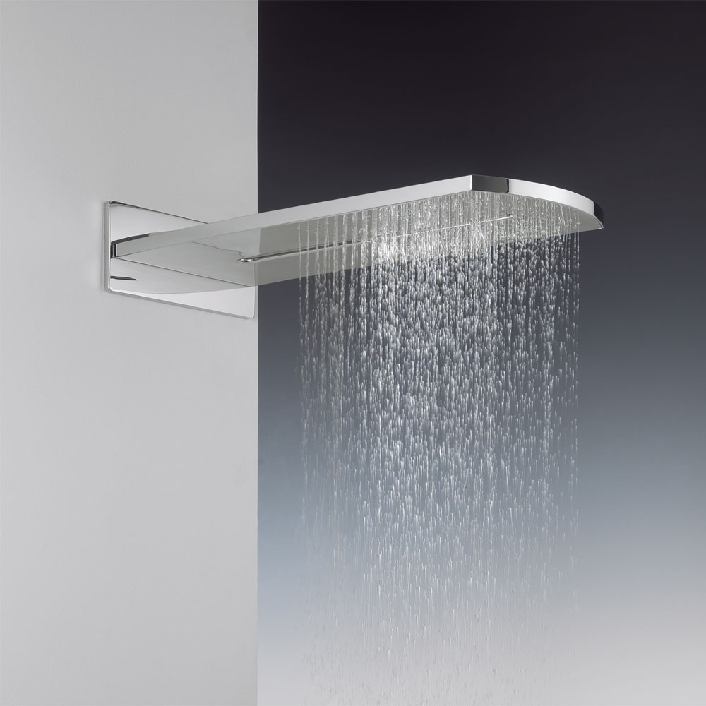 Crosswater - Elite Rectangular Fixed Showerhead - FH2000UC profile large image view 3