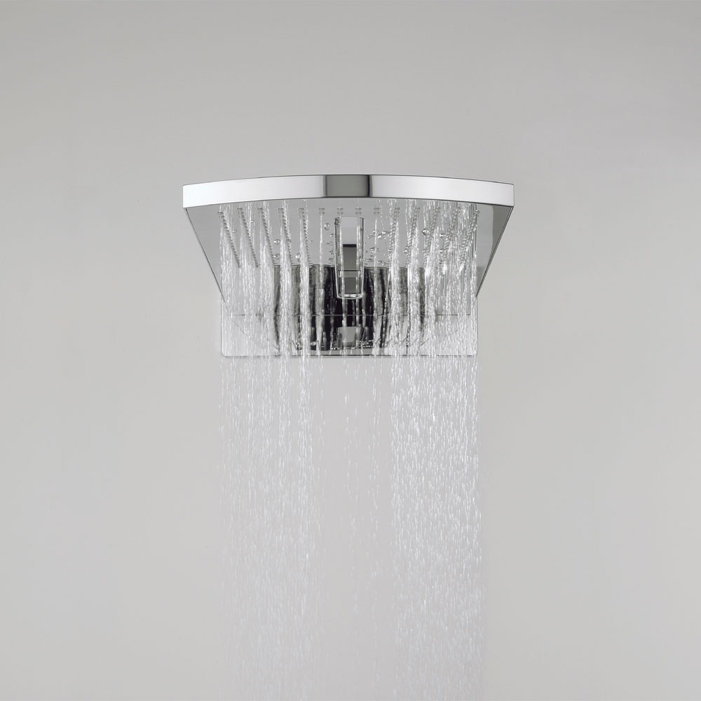 Crosswater - Elite Rectangular Fixed Showerhead - FH2000UC profile large image view 4