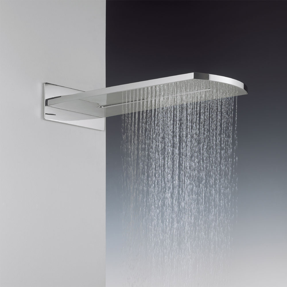 Crosswater - Elite Rectangular Fixed Showerhead - FH2000UC profile large image view 1