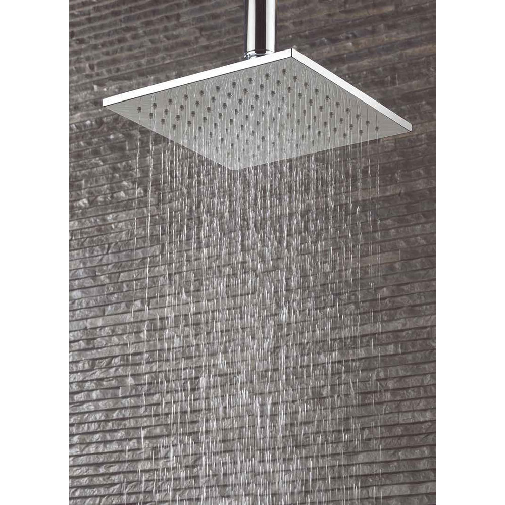 Crosswater - Zion 200mm Square Fixed Showerhead - FH220C profile large image view 2