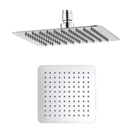 Crosswater - Glide 200mm Square Fixed Showerhead - FH220SR+