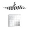 Crosswater - Glide 200mm Square Fixed Showerhead - FH220SR+ profile small image view 1
