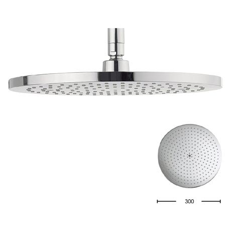 Crosswater - Central 300mm Round Fixed Showerhead - FH300C+