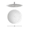 Crosswater - Central 300mm Round Fixed Showerhead - FH300SR+ profile small image view 1