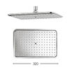 Crosswater - Essence 320mm Rectangular Fixed Showerhead - FH321C profile small image view 1