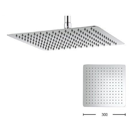 Crosswater - Glide 300mm Square Fixed Showerhead - FH330SR+