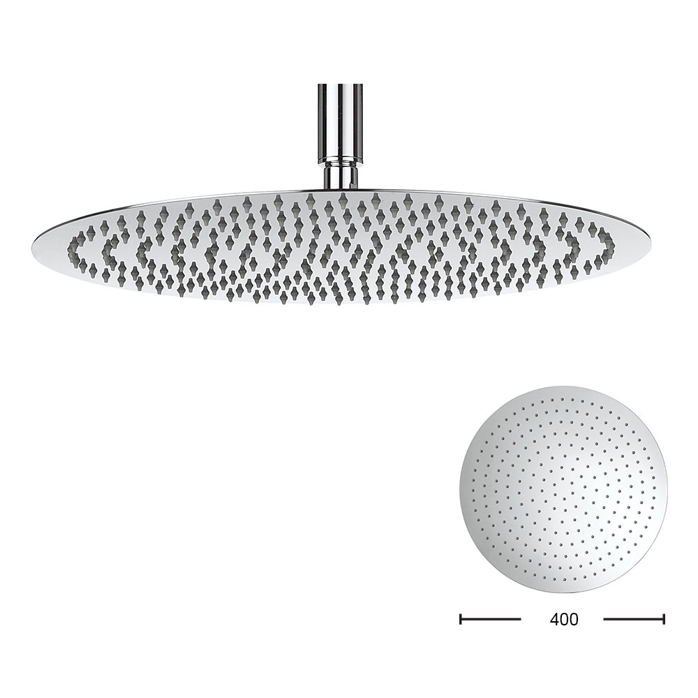 Crosswater - Central 400mm Round Fixed Showerhead - FH400SR+ Large Image