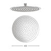 Crosswater - Central 400mm Round Fixed Showerhead - FH400SR+ profile small image view 1