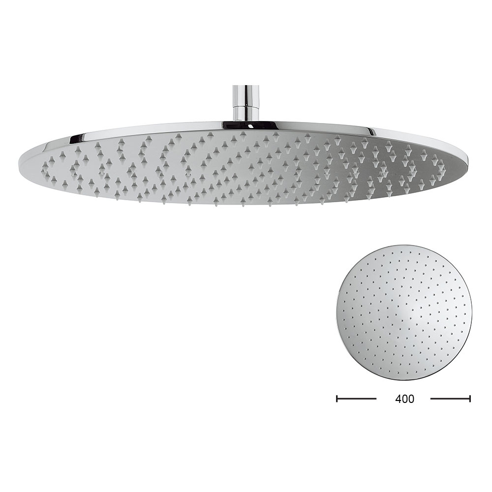 Crosswater - Contour 400mm Round Fixed Showerhead - FH617C+ Large Image