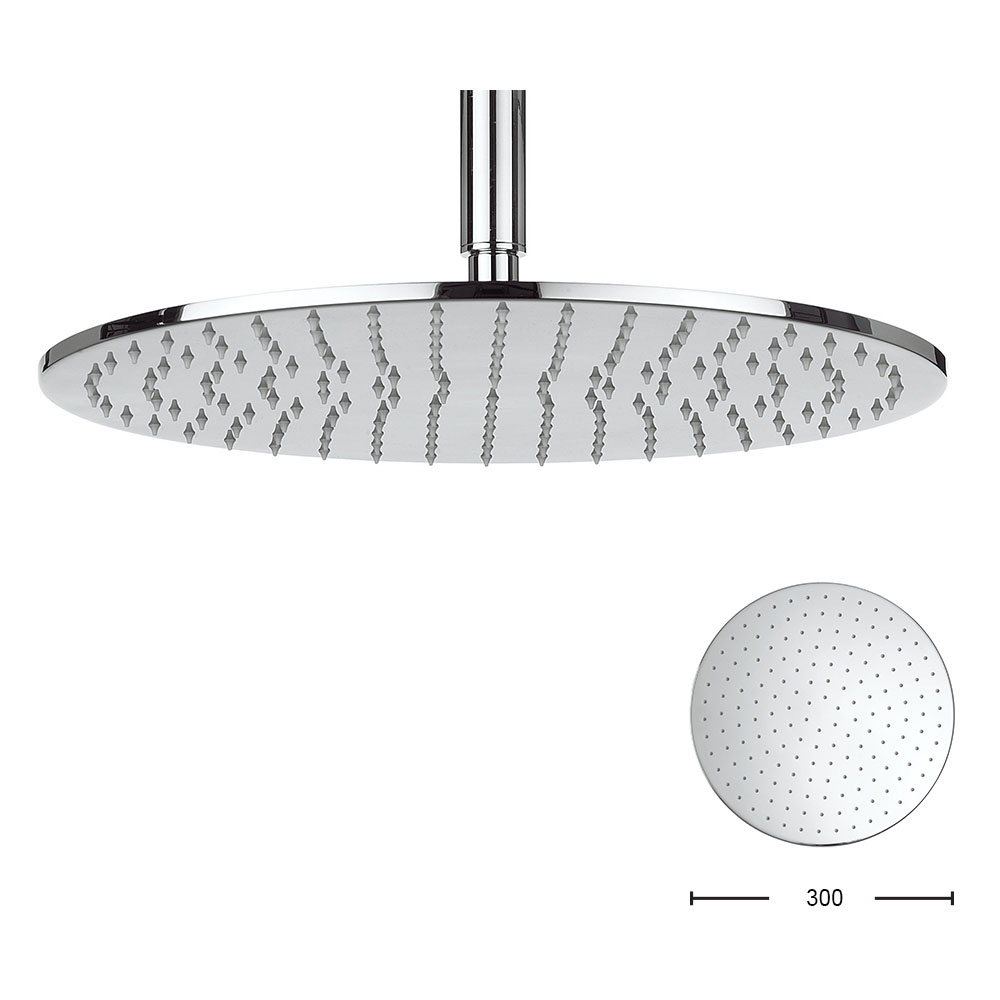Crosswater - Contour 300mm Round Fixed Showerhead - FH618C+ Large Image
