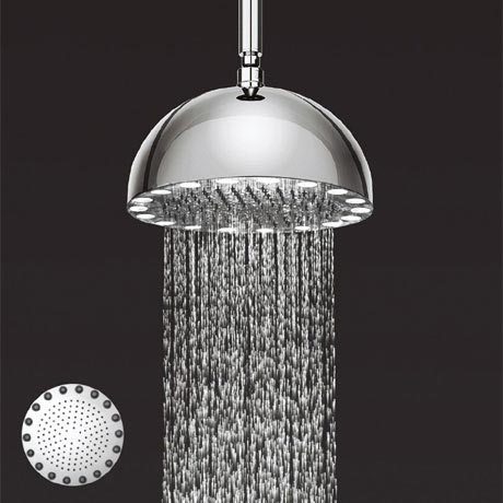 Crosswater - Dynamo 300mm LED Fixed Showerhead - FHX300C