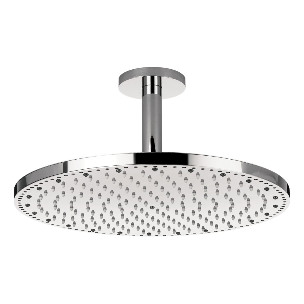 Crosswater - Rio Spectrum Round Showerhead with Lights and Ceiling Arm - FHX740C profile large image view 1