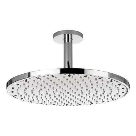 Crosswater - Rio Spectrum Round Showerhead with Lights and Ceiling Arm - FHX740C