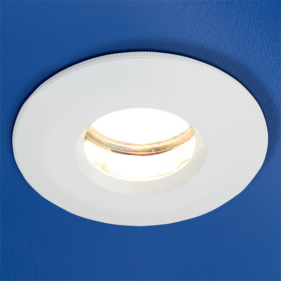 HIB - Fire Rated Showerlight - White - 5640 Large Image