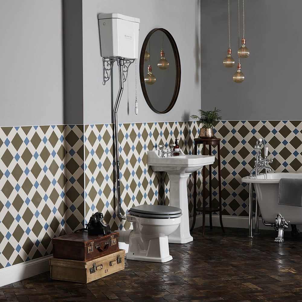 Bayswater Fitzroy High Level Traditional Bathroom Suite