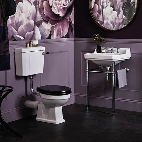 Bayswater Fitzroy Low Level Traditional Bathroom Suite