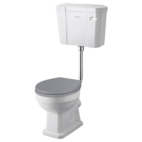 Bayswater Fitzroy Traditional Low Level Toilet with Ceramic Lever Flush