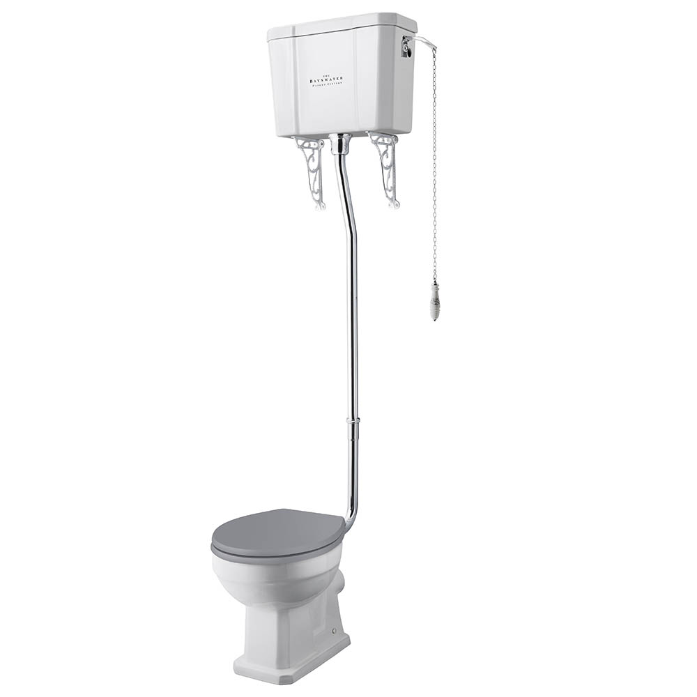 Bayswater Fitzroy Comfort Height Traditional High Level Toilet