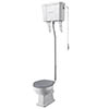 Bayswater Fitzroy Comfort Height Traditional High Level Toilet profile small image view 1