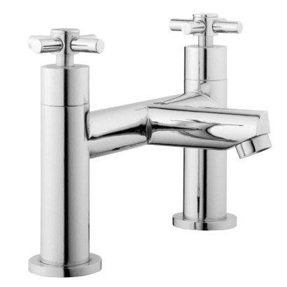 Ultra Series 1 Bath Filler - Chrome - FJ303 Large Image