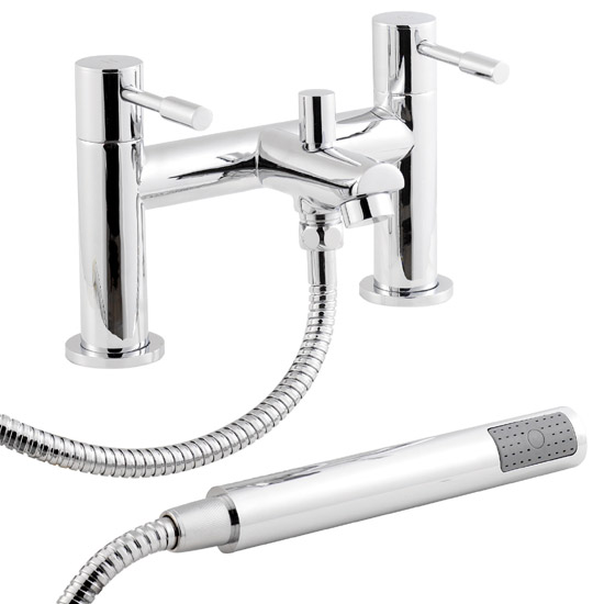 Ultra Series 2 Bath Shower Mixer with Shower Kit - FJ314 profile large image view 1
