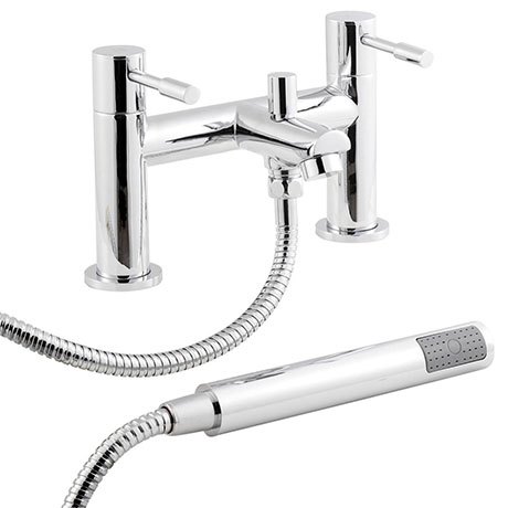Nuie Series 2 Bath Shower Mixer with Shower Kit - FJ314